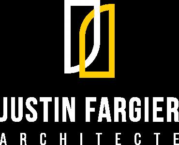 Logo atelier Justin Fargier architecte couleur 02