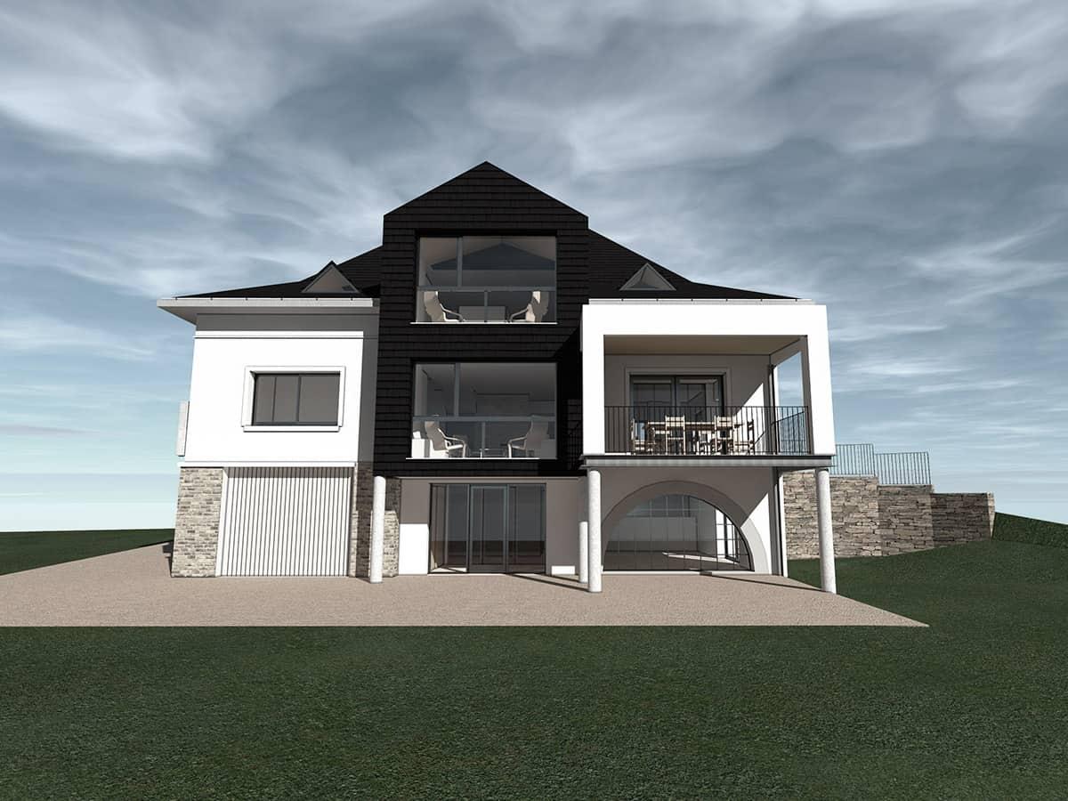 réhabilitation maison - justin fargier architecte