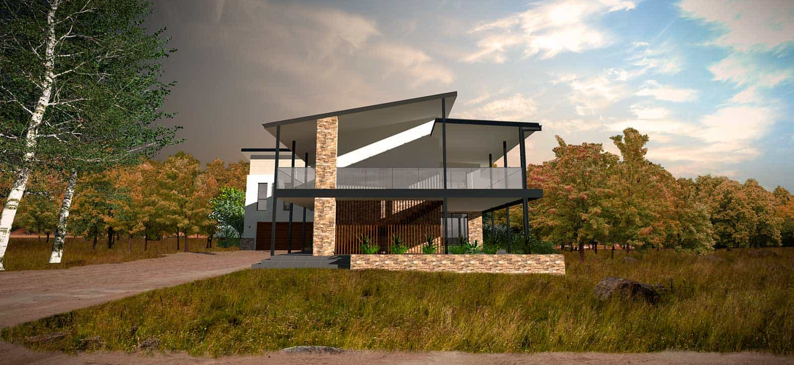 Maison architecte Pitt Town Australie