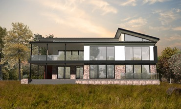 maison individuelle contemporain justin fargier architecte