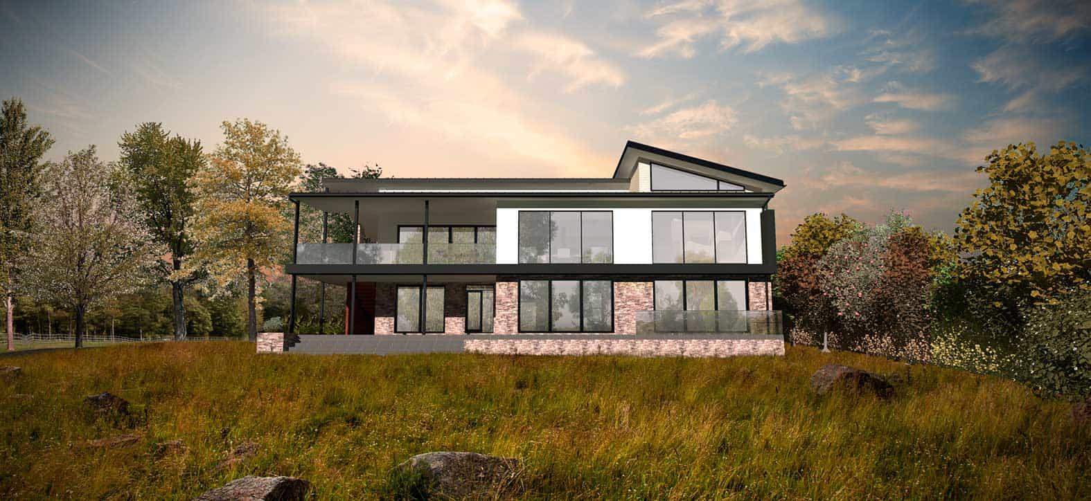 maison individuelle justin fargier architecte
